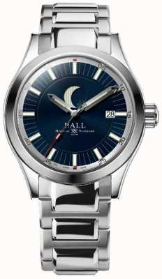 Ball Watch Company Engineer ii maanfase datumweergave roestvrijstalen armband NM2282C-SJ-BE