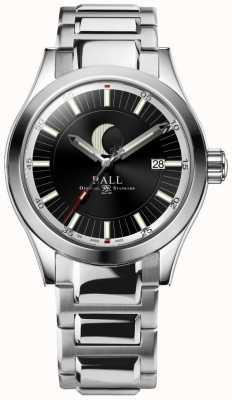 Ball Watch Company Engineer ii maanfase datumweergave roestvrijstalen armband NM2282C-SJ-BK