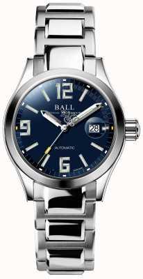 Ball Watch Company Ingenieur iii legend automatische weergave van blauwe wijzerplaat datum NL1026C-S4A-BEGR