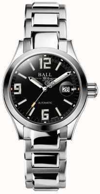 Ball Watch Company Ingenieur iii legende automatische datumweergave voor zwarte wijzerplaten NL1026C-S4A-BKGR