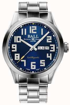 Ball Watch Company Ingenieur iii starlight blauwe wijzerplaat roestvrij gelimiteerde editie NM2182C-S9-BE1