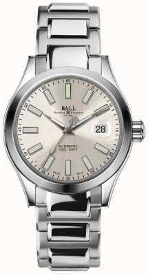 Ball Watch Company Engineer ii marvelight automatische datumweergave met champagne wijzerplaat NM2026C-S6-SL