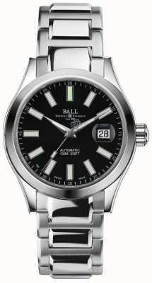 Ball Watch Company Engineer ii marvelight automatische datumdisplay met zwarte wijzerplaat NM2026C-S6J-BK
