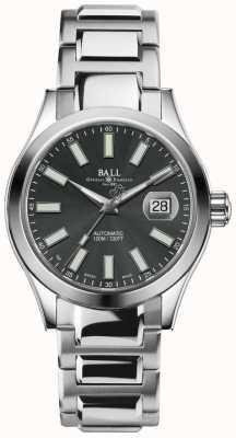Ball Watch Company Herenhorloge Engineer II Marvelight, automatisch roestvrijstalen horloge met grijze wijzerplaat NM2026C-S6J-GY