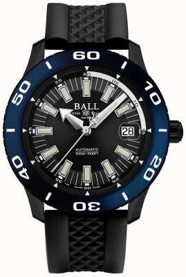 Ball Watch Company Datumweergave firewall automatisch necc blauw scherm DM3090A-P5J-BK