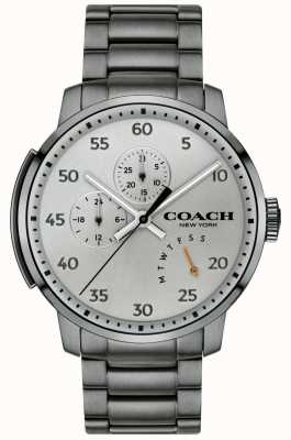 Coach Heren bleecker multifunctioneel horloge grijs 14602360