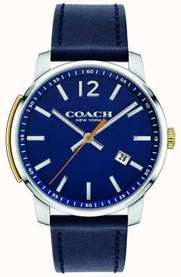 Coach Heren bleecker multifunctioneel horloge blauw 14602343