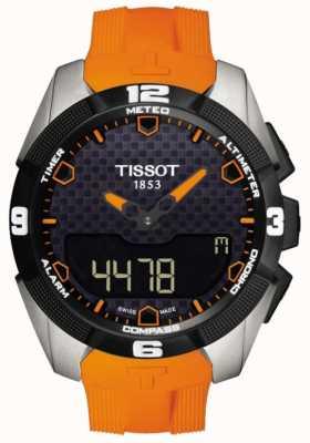 Tissot T-touch expert solar titanium alarm chronograaf voor heren T0914204705101