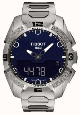 Tissot Heren t-touch titanium expert zonne-alarm chrono T0914204404100