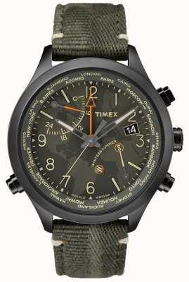 Timex Waterbury horloge met 43 mm lange stof TW2R43200VQ