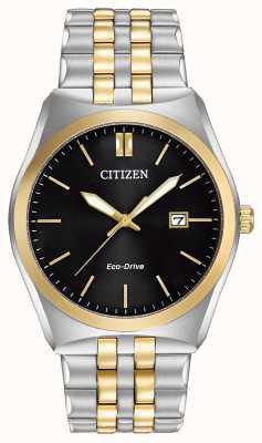 Citizen Eco-drive corso wr100 | zwarte wijzerplaat | roestvrij stalen band | BM7334-58E
