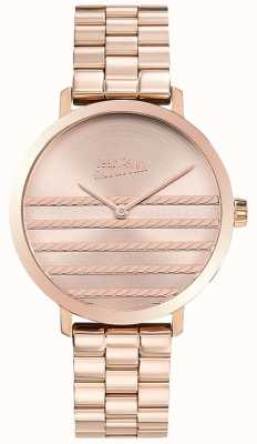 Jean Paul Gaultier Dameshorloge in rose goudkleurig goud JP8505608