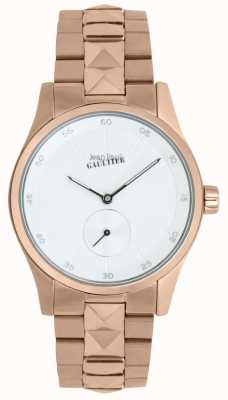 Jean Paul Gaultier Garcon manque dames rose goudkleurige armband JP8505201