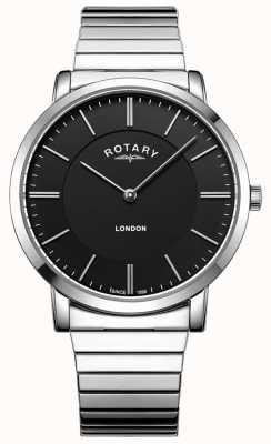 Rotary Herenvergrotend armbandhorloge in Londen GB02765/04