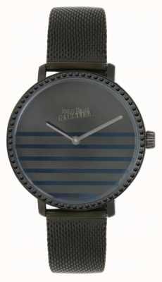 Jean Paul Gaultier Womens glammareger gunmental mesh armband horloge 8505602