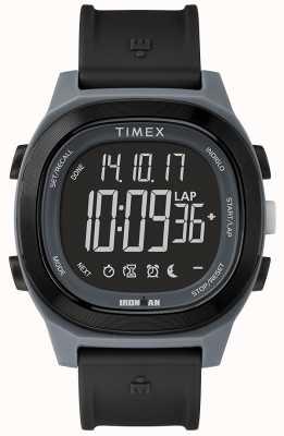 Timex Iron man essentieel zwart snel wrap horloge TW5M19300SU