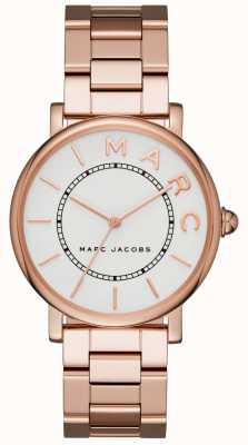 Marc Jacobs Dames marc jacobs klassiek horloge rose goudkleur MJ3523