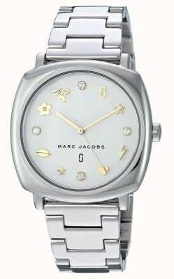 Marc Jacobs Dames marc jacobs klassiek horloge goudkleurig MJ3572