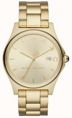 Marc Jacobs Dames henry horloge gold tone MJ3584