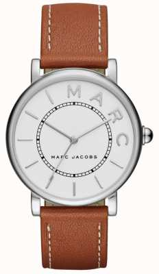 Marc Jacobs Dames marc jacobs klassiek horloge bruin leer MJ1571