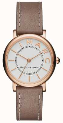 Marc Jacobs Dames marc jacobs klassiek horloge grijs leer MJ1538