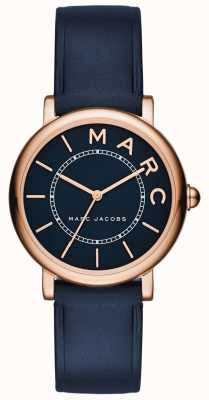 Marc Jacobs Dames marc jacobs klassiek horloge marine leer MJ1539