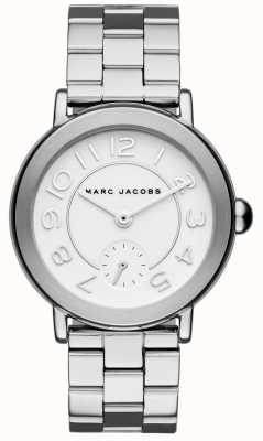 Marc Jacobs Riley dameshorloge zilverkleur MJ3469