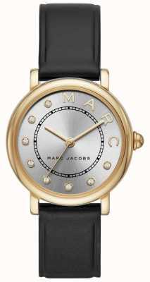 Marc Jacobs Dames marc jacobs classic horloge zwart leerr MJ1641
