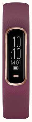 Garmin Vivosmart 4 uur ox tracker klein / medium paars roségouden kast 010-01995-01