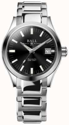 Ball Watch Company Engineer m marvelight 40 mm roestvrijstalen zwarte wijzerplaat NM2032C-S1C-BK