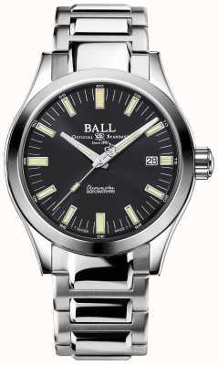 Ball Watch Company Engineer m Marvelight 40mm horloge van roestvrij staal met grijze wijzerplaat NM2032C-S1C-GY