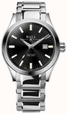 Ball Watch Company Engineer m marvelight 43mm zwarte wijzerplaat NM2128C-S1C-BK