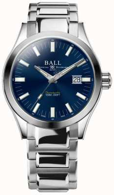 Ball Watch Company Engineer m marvelight 43mm blauwe wijzerplaat NM2128C-S1C-BE