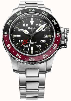 Ball Watch Company Engineer koolwaterstof aerogmt ii 42mm zwarte wijzerplaat DG2018C-S3C-BK