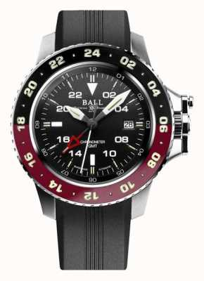 Ball Watch Company Engineer koolwaterstof aerogmt ii 42 mm zwarte wijzerplaat DG2018C-P3C-BK