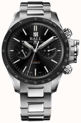 Ball Watch Company Engineer koolwaterstof racer chronograaf 42 mm zwarte wijzerplaat CM2198C-S1CJ-BK