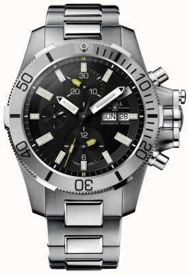 Ball Watch Company Engineer koolwaterstof 42mm onderzeese oorlogsvoering chronograaf DC2276A-SJ-BK