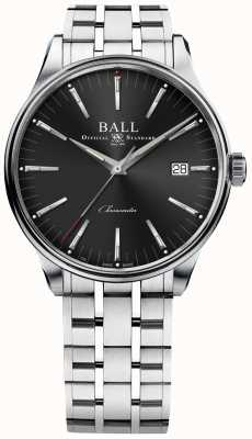 Ball Watch Company Trainmaster vervaardigt 80 uur gangreserve 40 mm NM3280D-S1CJ-BK