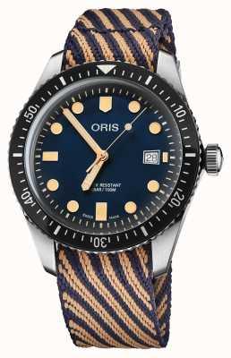 """Oris Diver's vijfenzestig limited edition """"wereld opruimdag"""" 01 733 7720 4035-5 21 13"""