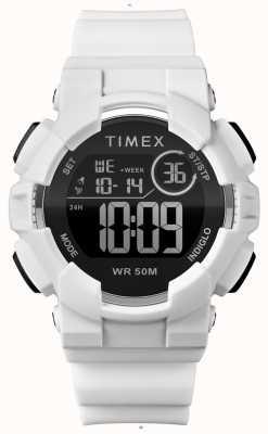 Timex Witte damesriem van 44 mm in witte uitvoering TW5M23700