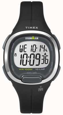 Timex Ironman essentials voor dames 10 zwart en chroom TW5M19600