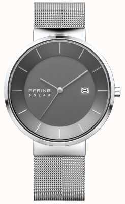 Bering Herenhorloge, herenhorloge, roestvrij stalen horlogeband 14639-309