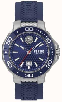 Versus Versace Mens kalk bay roestvrij stalen armband blauwe wijzerplaat VSP05020018