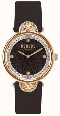 Versus Versace Victoriaanse lederen damesriem van Victoria-haven SP33150018