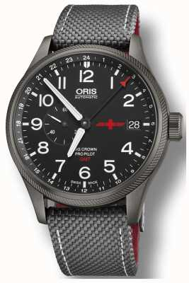 Oris Mens gmt rega limited edition grote kroonpropilot 01  748 7710 4284-SET