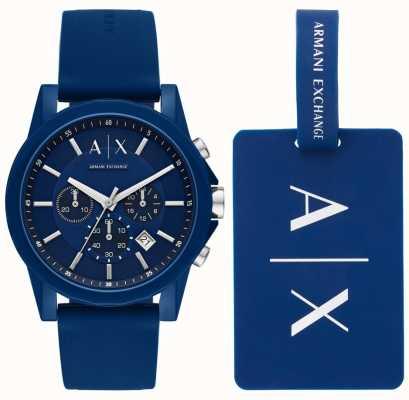 Armani Exchange Cadeauset herenhorloge voor sport AX7107