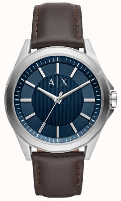 Armani Exchange Armani ruil heren dress watch bruine band AX2622