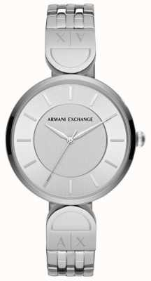 Armani Exchange Dames jurk horloge roestvrij staal AX5327