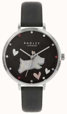 Radley Dames kijken zwarte honden inkt band RY2679