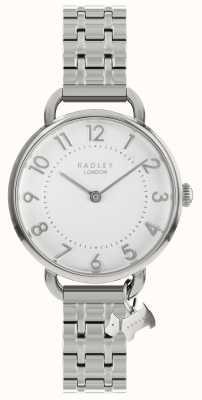 Radley Dames kijken zilveren open schouder armband RY4343